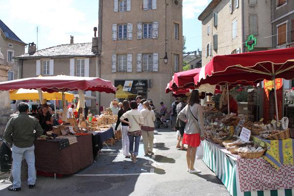 Marché de Florac été