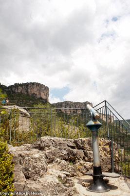 Observatoire à vautours en Cévennes