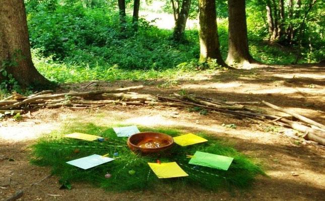 Ritualort in der Natur, Mondsee/Oberösterreich
