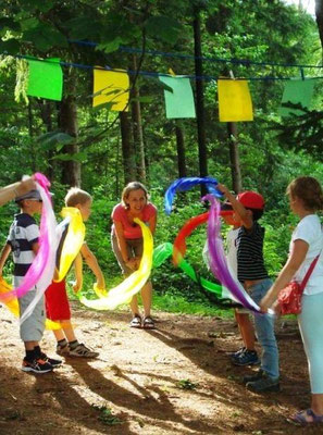 Hinein in den Sommer - Kinderritual zum Ferienbeginn, Mondsee/Oberösterreich - Juli 2015
