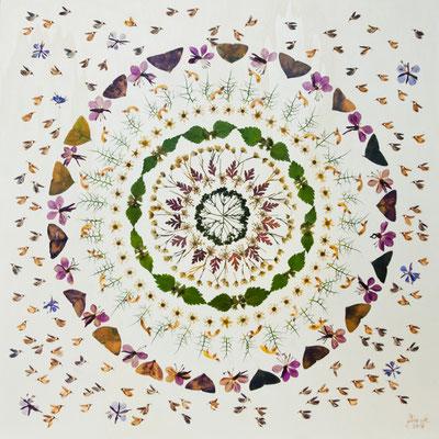 Wald für die Waldschenke in Zwickau  Blütenkunstwerk Altus-Art