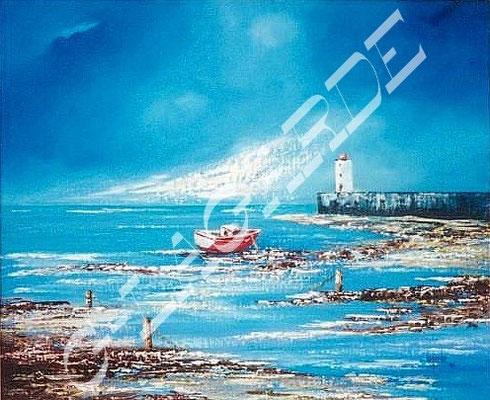 104 Bateaux de pêche à marée basse  55x46