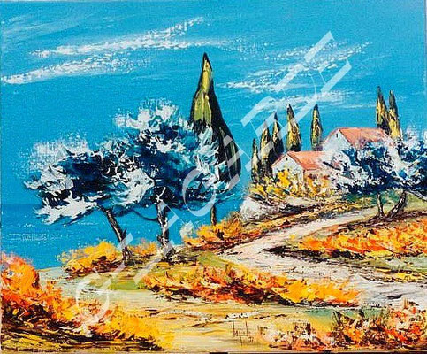 168 Chemins de Provence 46x38