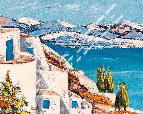 80 Terrassas de Grèce  27x22