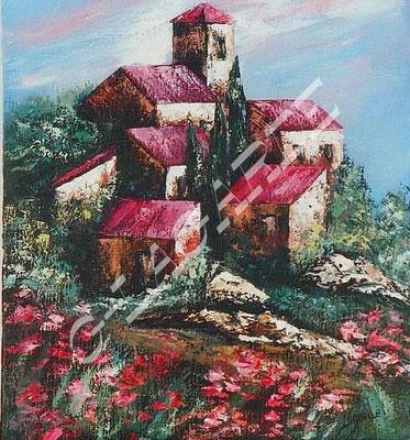 42 Village de Provence 65x50