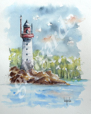 103 Phare du grand jardin 1 +c 50x40