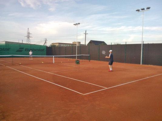 Теннисный корт, Оренбургская область, г. Орск (2015)