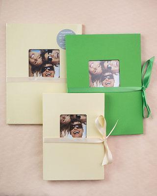 Album klein für 12 Fotos im Format 10x15cm  je 3,50€, für  13x18 cm je 4 €