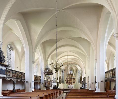Marienkirche Hornburg (erbaut ab 1616) - Inneres