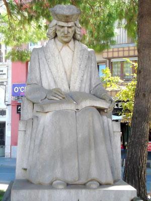 Standbild Muntaners in Figueres von Frederic Marès