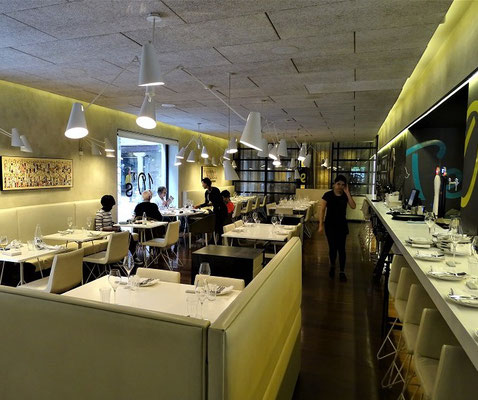 In diesem Restaurant könnten Hendrik mit Marisol, Sandovan und Manuel gespeist haben (Erlaubnis für die Aufnahmen im Hotel wurden eingeholt)