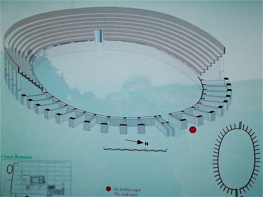 Rekonstruktion des Amphitheaters