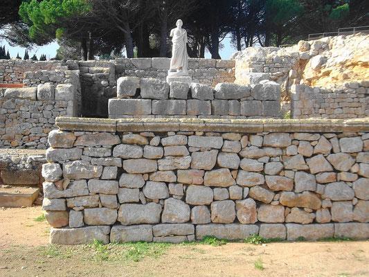 Ruinen des Asklepion-Tempels