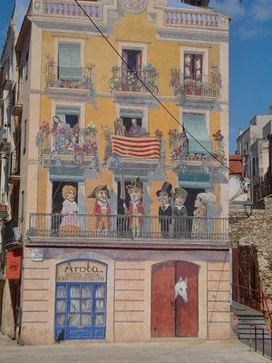 Das Haus eines Malers