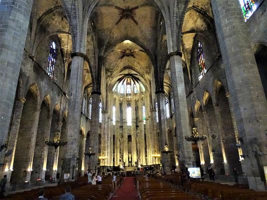 Die gotische Kirche Santa Maria del Mar