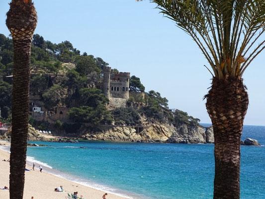 Blick Richtung Castell d´en Plaja