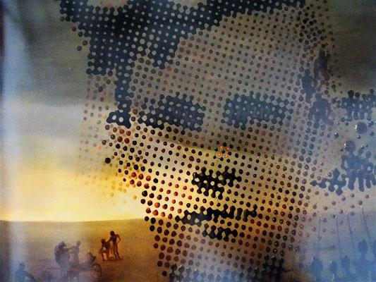 Phantasie-Porträt seines verstorbenen Bruders Salvador Galo Anselmo Dalí i Domènech (1901-1903), in das Dalí seine eigenen Züge einträgt