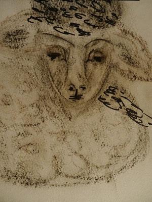 Dagmar J. / Krippenfiguren: Schaf
