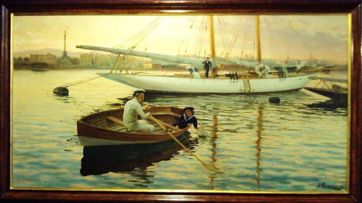 Joan Llaverías (1865-1938): Ein zukünftiger Seemann
