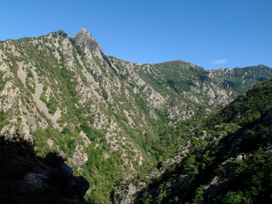 Blick in das Llech-Tal