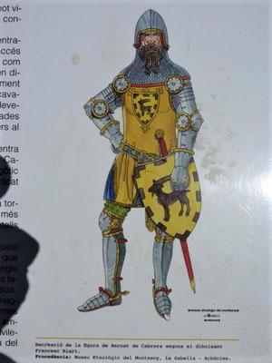 Der Erbauer: Bernart II. de Cabrera...