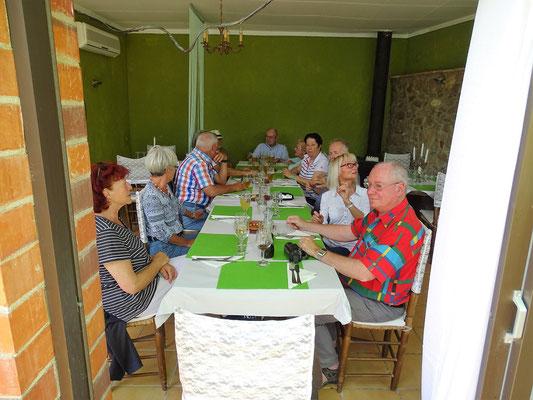 Abschluss im Restaurant El Niu in Pau