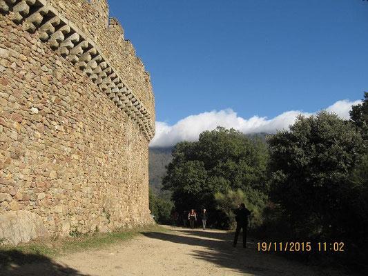 Alte Mauern - neu errichtet