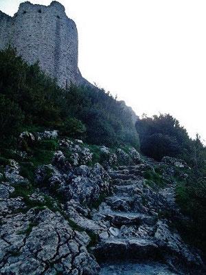 Treppen des heiligen Ludwig auf Oberburg