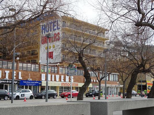 Das Hotel, in dem Hendrik Quartier nahm