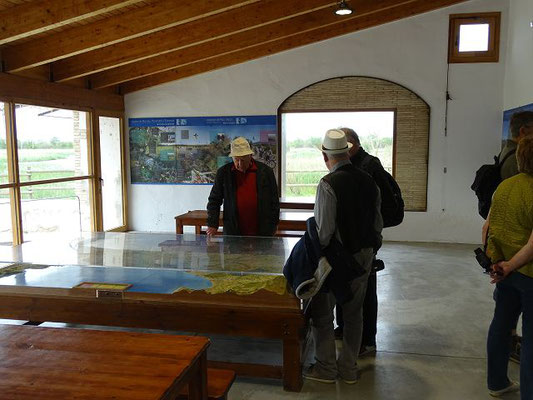Im Informationszentrum Mas Mata
