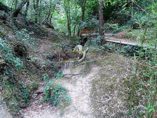 """In dem großen Parkgelände (40 000 m2) hat der Bildhauer Francesc """"Xicu"""" Cabanyes (geb. 1946) mehr als 100 Figuren installiert"""