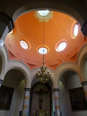 Kuppel der Sakramentskapelle