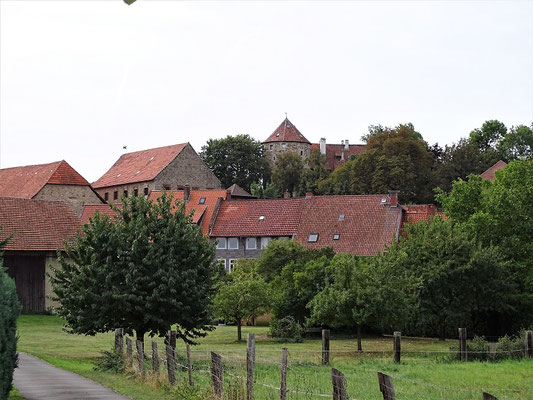 Blick auf das Schloss (Hornburg)