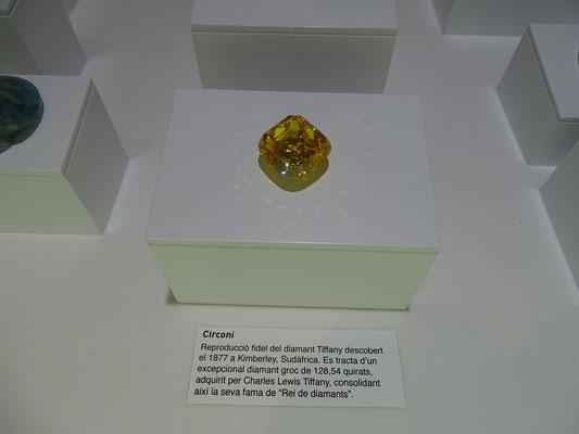 Nachbildung des Tiffany-Diamanten