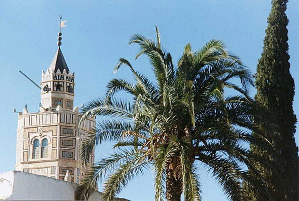 Testour (Tunesien) / Mudéjar-Minarett (Aufnahme: Bigalke wiki)