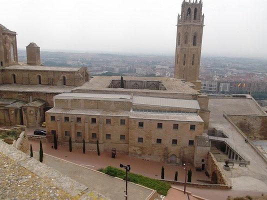 Blick auf alte Kathedrale