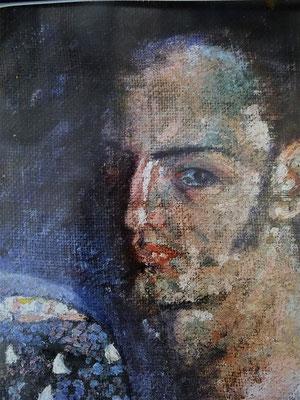 Selbstporträt des Malers 1920