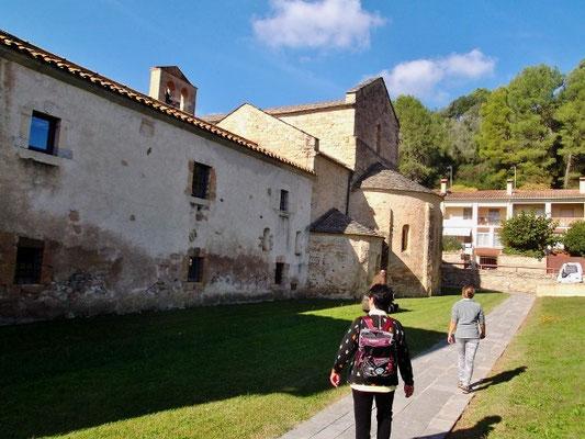 Spaziergang um die Klosteranlage