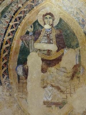 Christus als Weltenherrscher in der Mandorla...