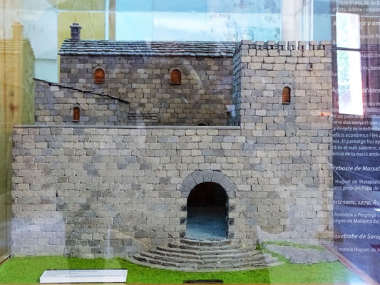 Rekonstruktion des Schlosses Mataplana