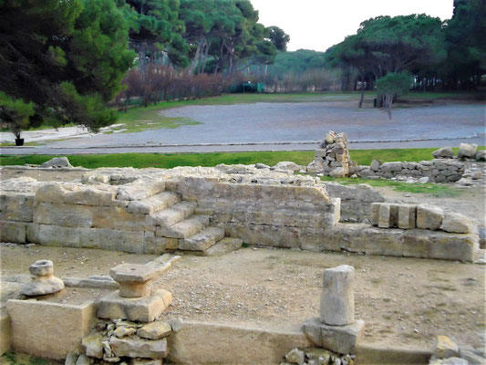 Ruinen des Serapis-Tempels