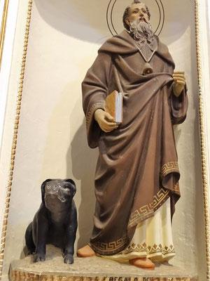 Der Bauernheilige Antonius mit Schwein