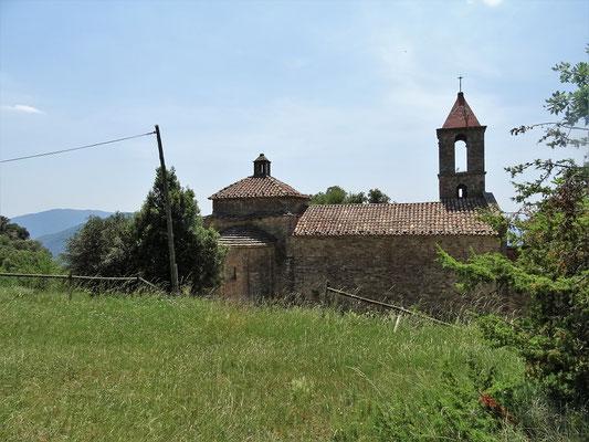 Ganz in der Nähe die romanische Kirche Sant Joan