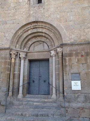 Kunstvoller Eingang