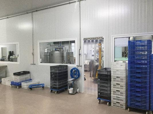 Blick in die Produktionsräume