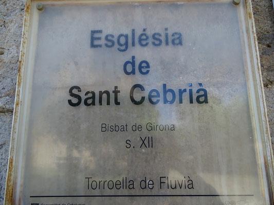 Sant Cebrià ist der Kirchenvater Cyprianus