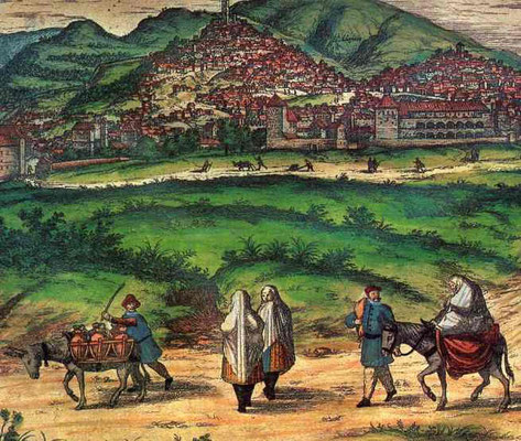 Joris Hoefnagel Morisken aus Granada 1654