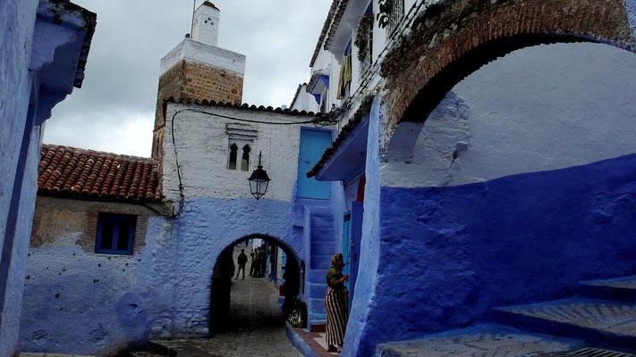 Txauen (Marokko) - Andalusisch-moriskisches Viertel (Aufnahme: Gabirolo wiki)
