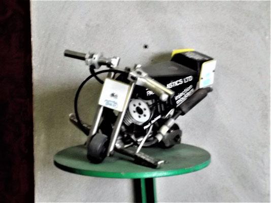 Das kleinste funktionierende Motorrad der Welt