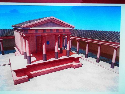 Rekonstruktionsbild Serapeion